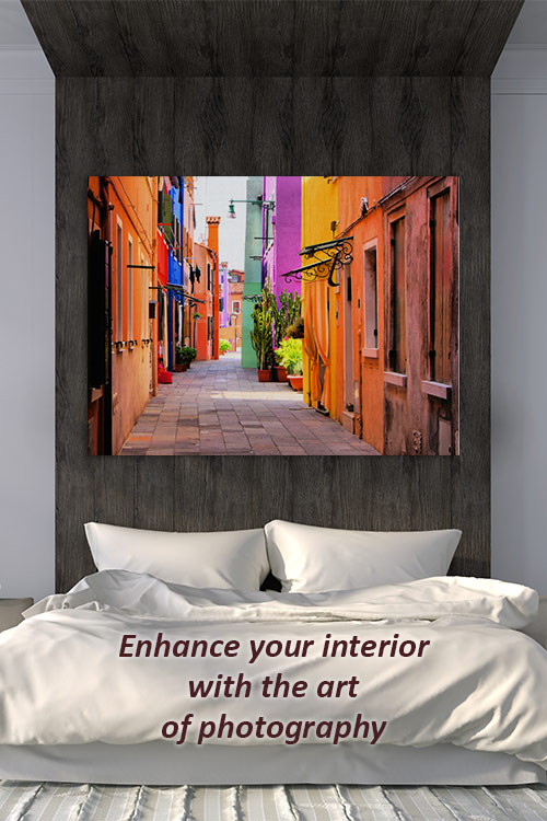 Enhance your interior with the art of photography
