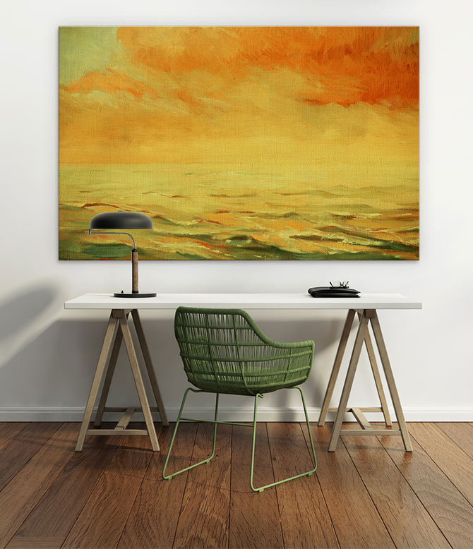 Abstract Landscapes that complement your home decor