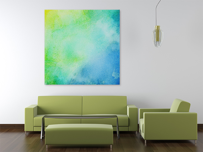 Vibrant Abstract Landscapes