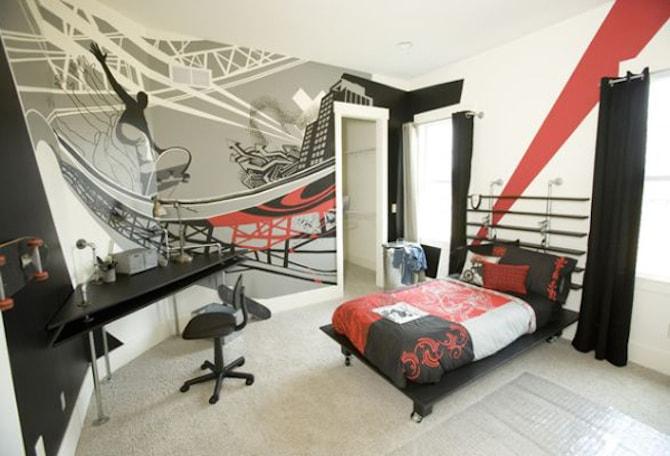 Bedroom Design Ideas - Nouveau Punk