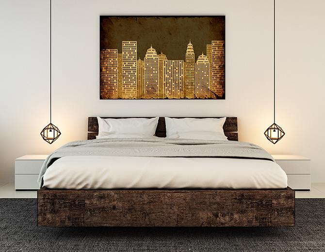 Bedroom Design Ideas - Hard Lines