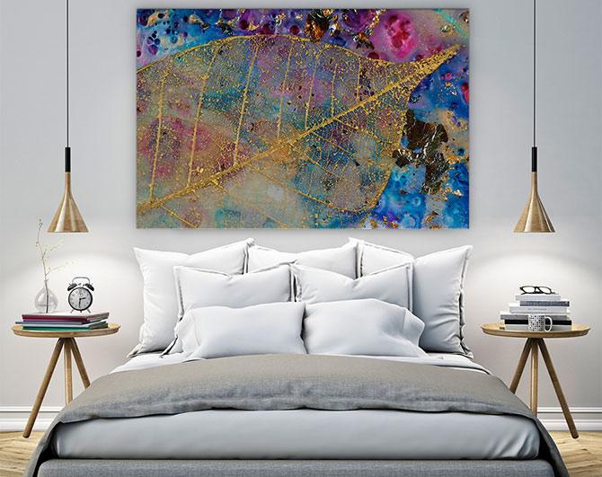 Bedroom Design Ideas - Metallic