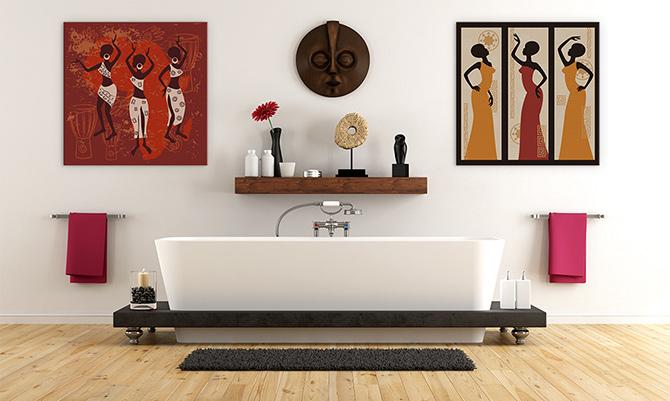 Interior Design Trends Multicultural art