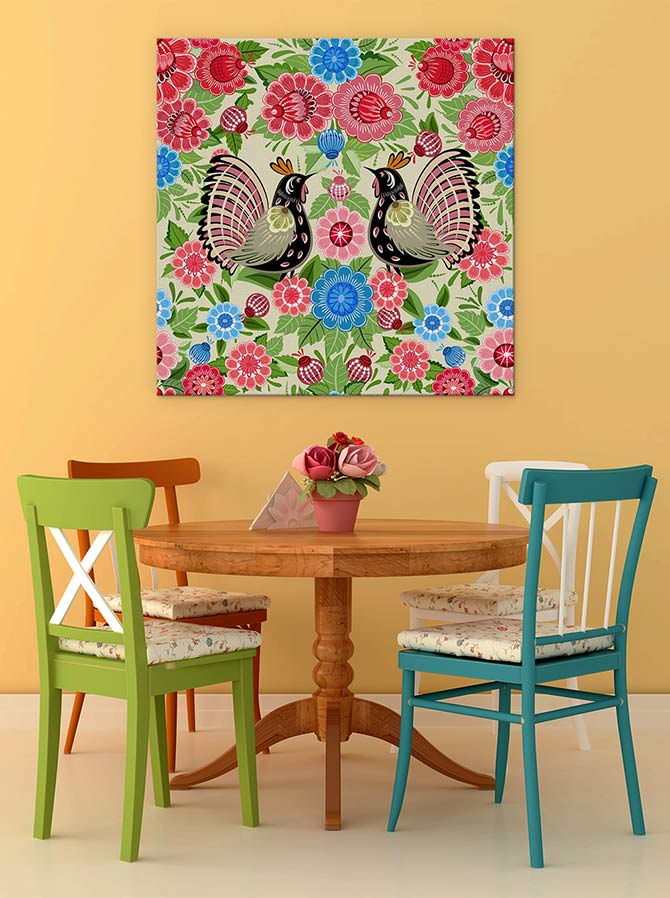 Boho Chic Meets Folk Art