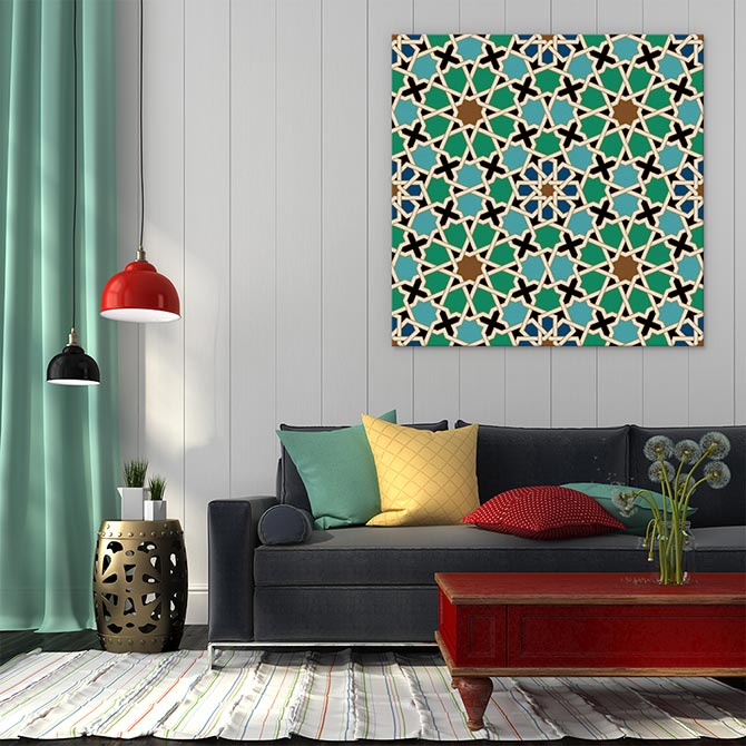 Boho Chic Islamic Artwork