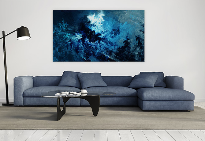 Digital Art - Man Cave - Abstract