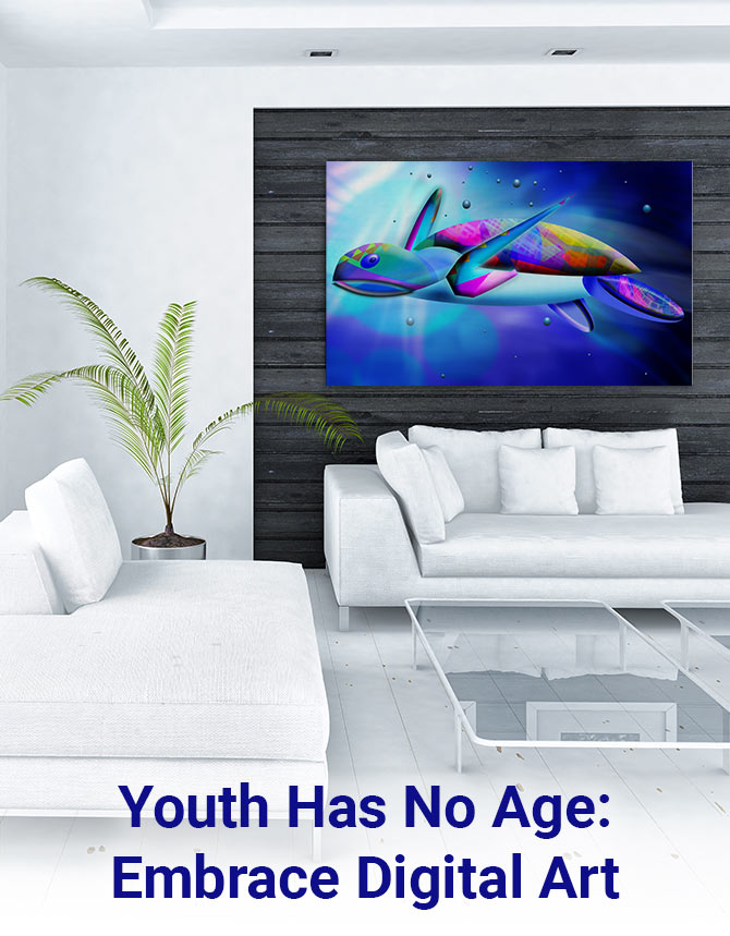 Youth Has No Age: Embrace Digital Art