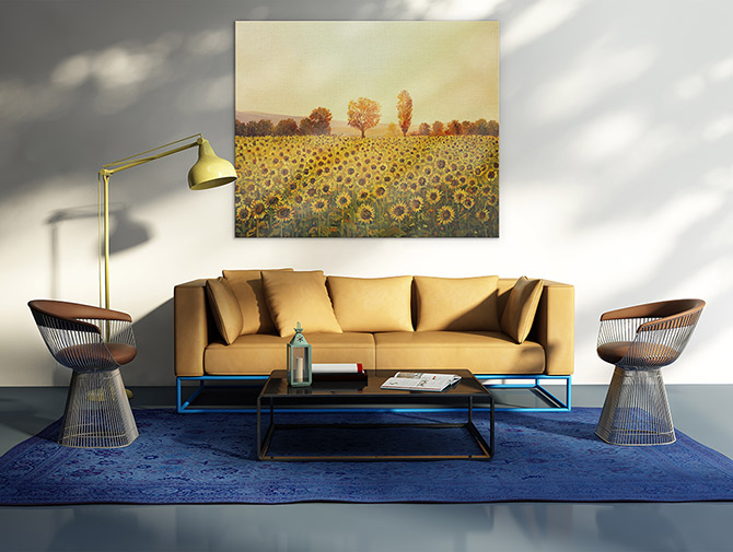 Landscape Painting - Warmth