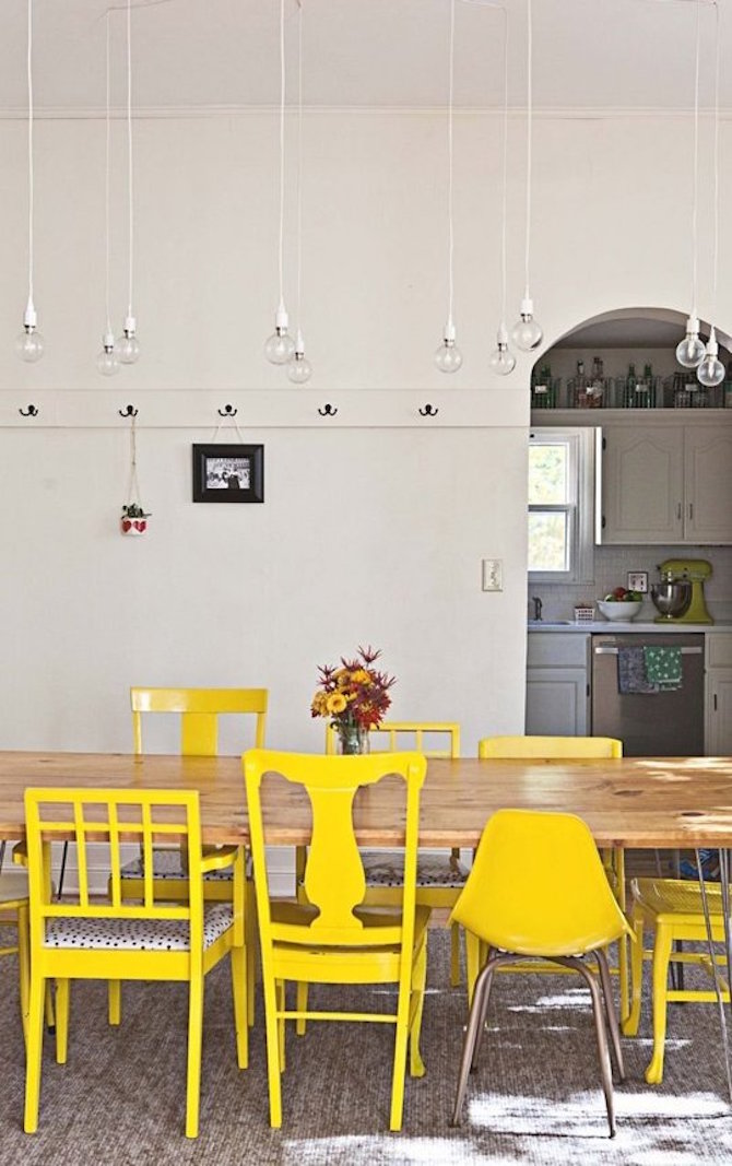 Apartment Decorating Ideas - Odd Chairs