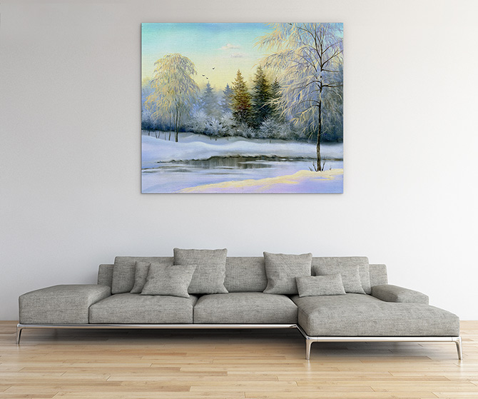 Landscape Painting - Be Cool