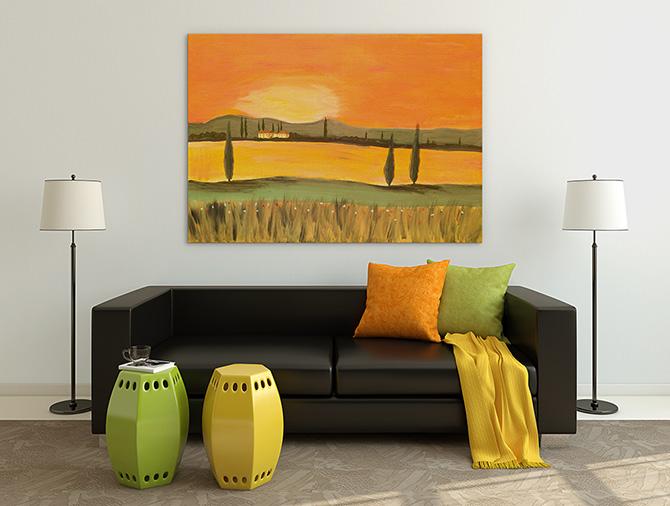 Apartment Decorating Ideas - Bright