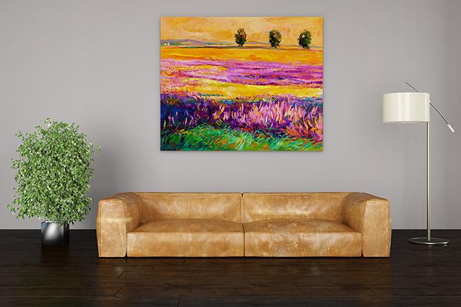 Landscape Painting - Colour