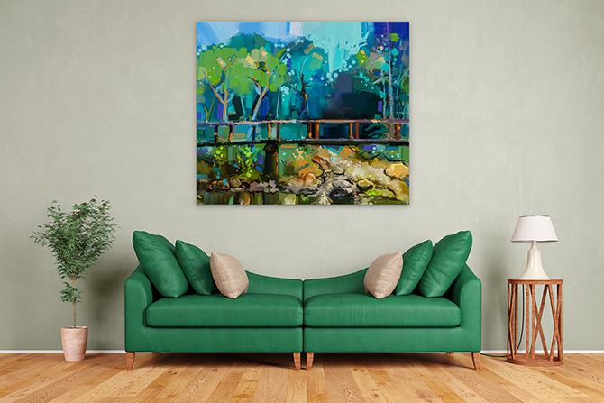 Landscape Painting - Harmonise