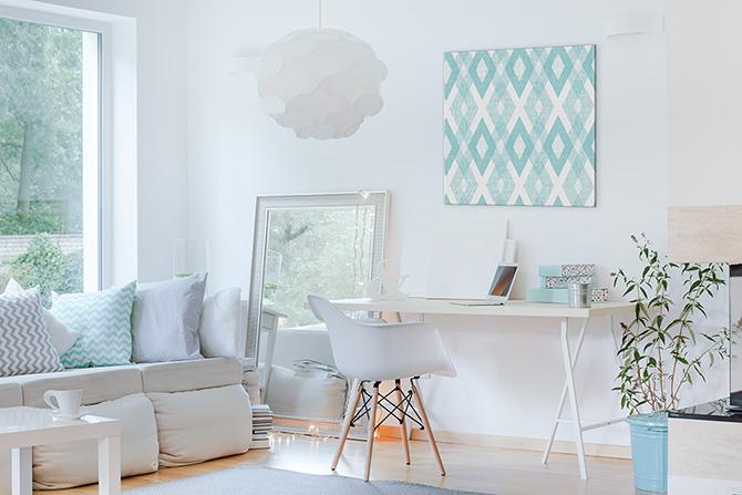 Apartment Decorating Ideas - Mirror