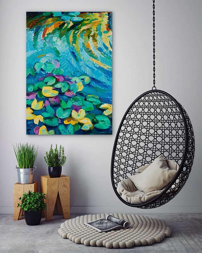 Apartment Decorating Ideas - Go Green