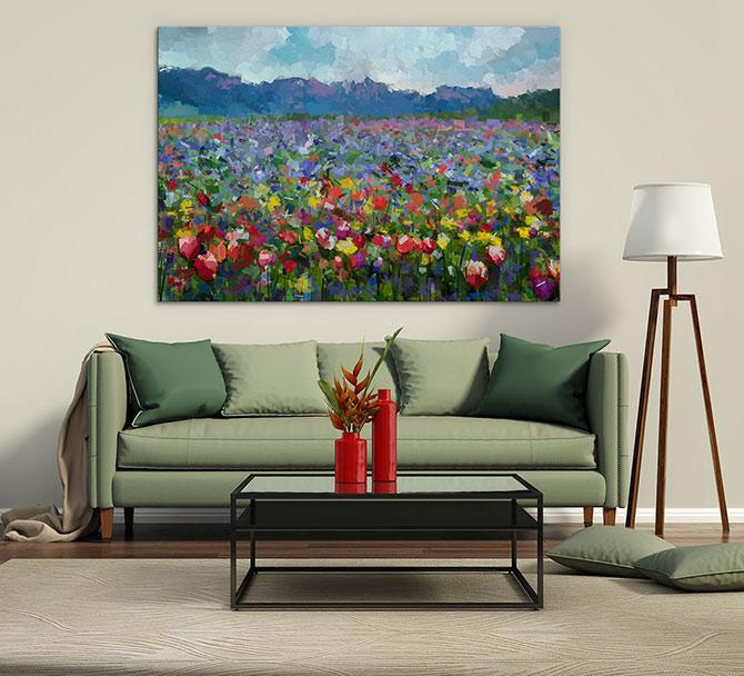 Landscape Painting - Flowers