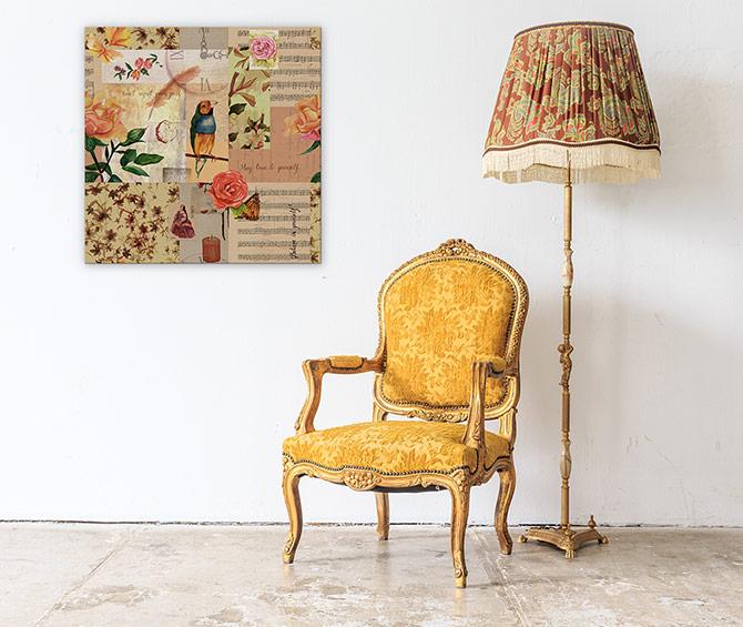 Apartment Decorating Ideas - Vintage Twist