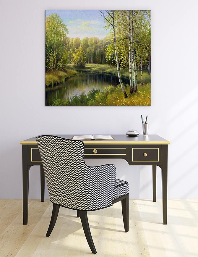 Landscape Painting - Window