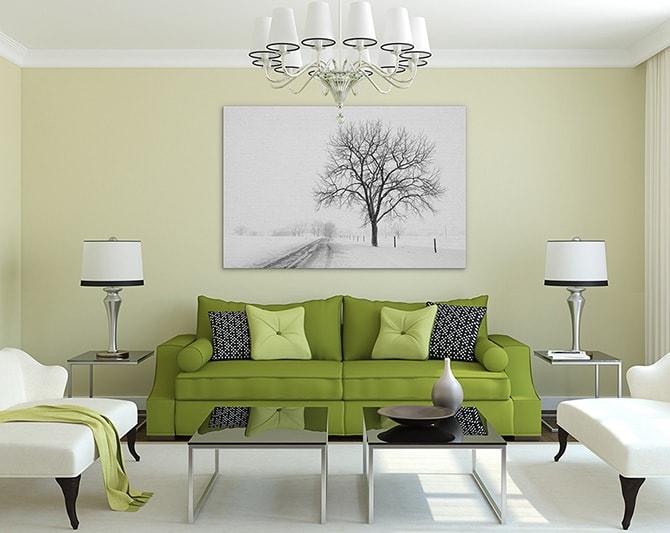 Modern Living Room - Formal
