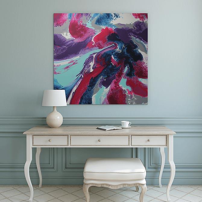 Emma Thomas - Abstract Artist - Roses