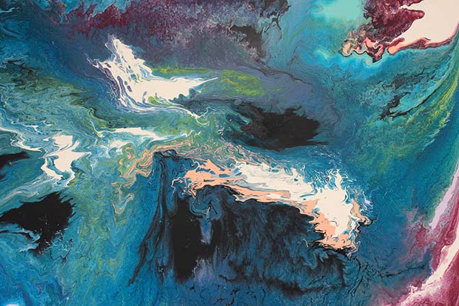 Emma Thomas - Abstract Artist - Transcend