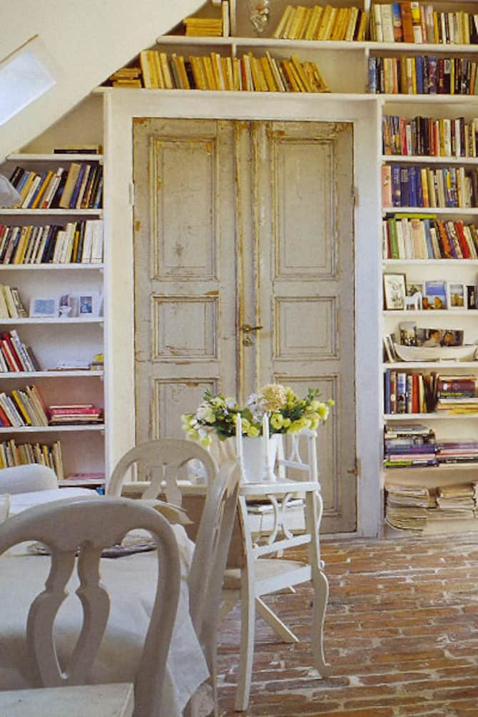 Shabby Chic Library