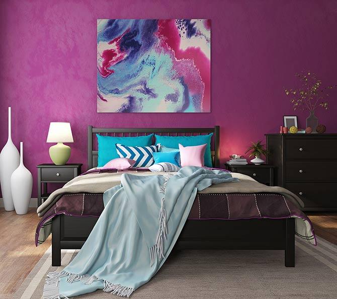Colour Me Confident Bedroom Interior Design Ideas