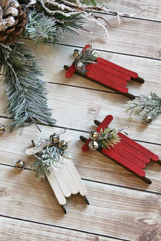 Homemade Christmas Decorations - Rustic Tree Ornament