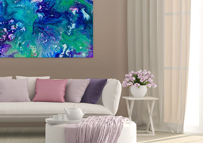 Colour Contrast - Lilac Clash