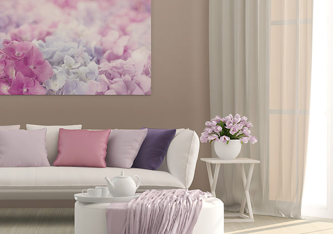 Colour Contrast - Lilac Match