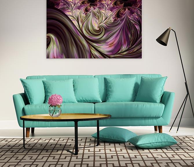 Colour Contrast - Turquoise Clash