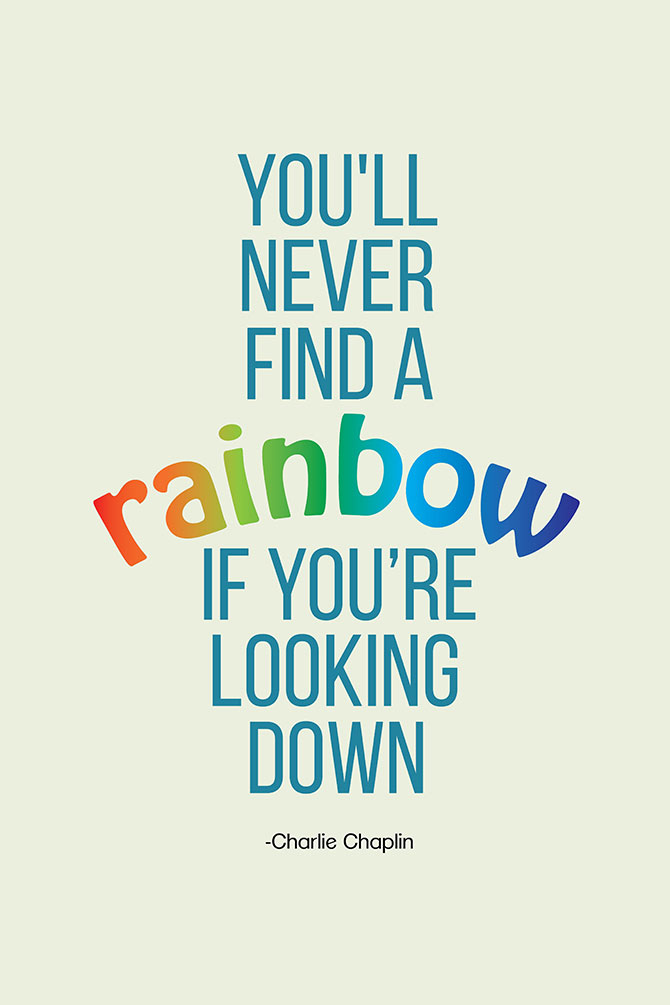 uplifting quotes art print