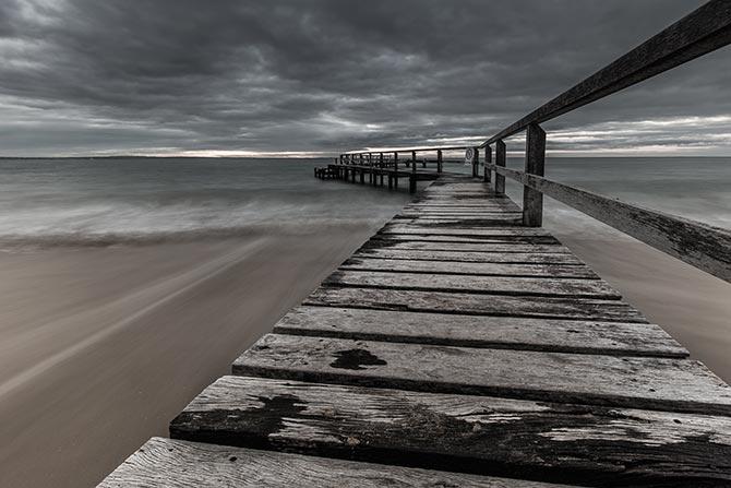 Liz Hubbert - Moody Shelley Beach