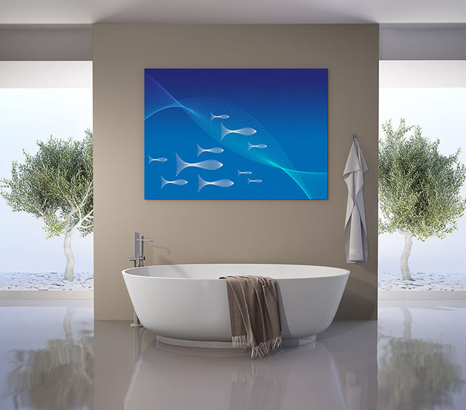 Water Art Ideas fish art