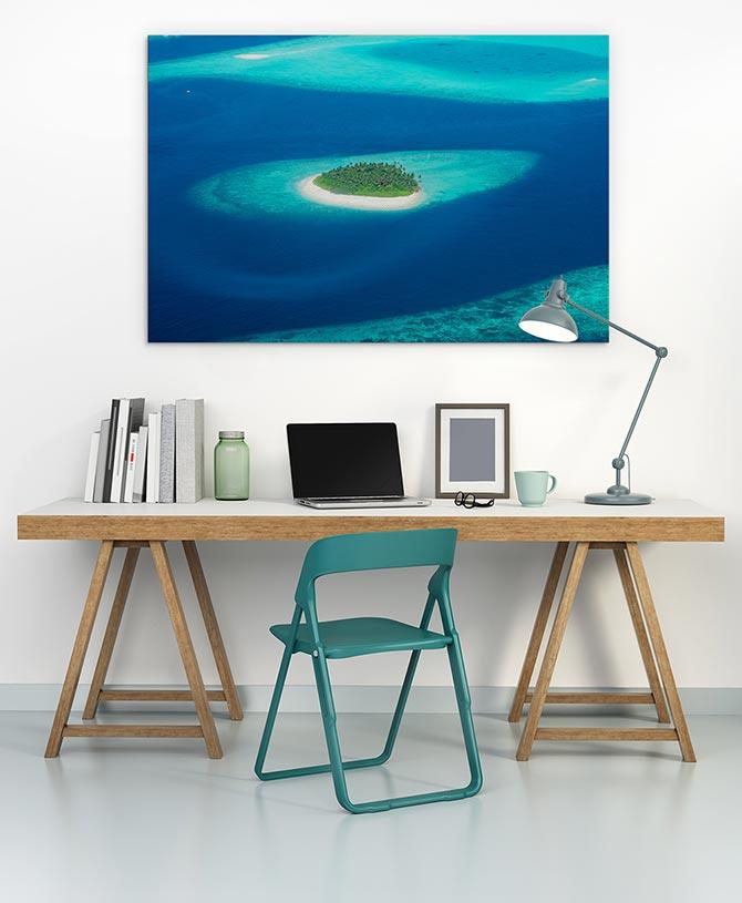Island Water Art Ideas