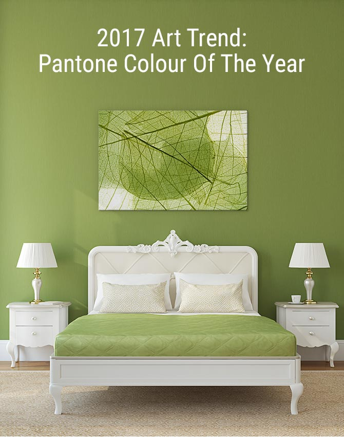 2017 Art Trend: Pantone Colour Of The Year