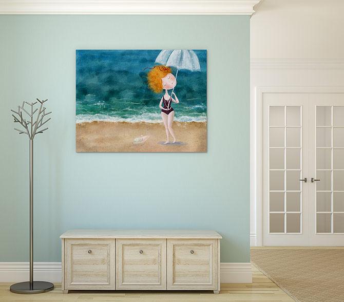 Raindrops Water Art Ideas