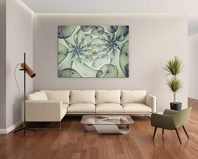 How To Hang Pictures - Sofa