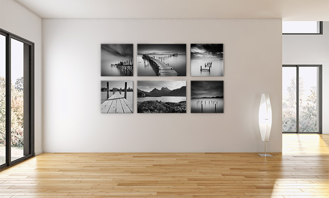 How To Hang Pictures - Symmetrical