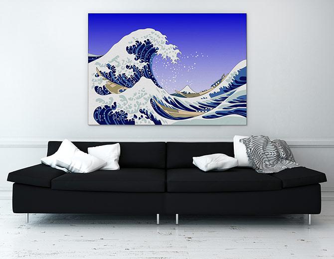 Wave Water Art Ideas