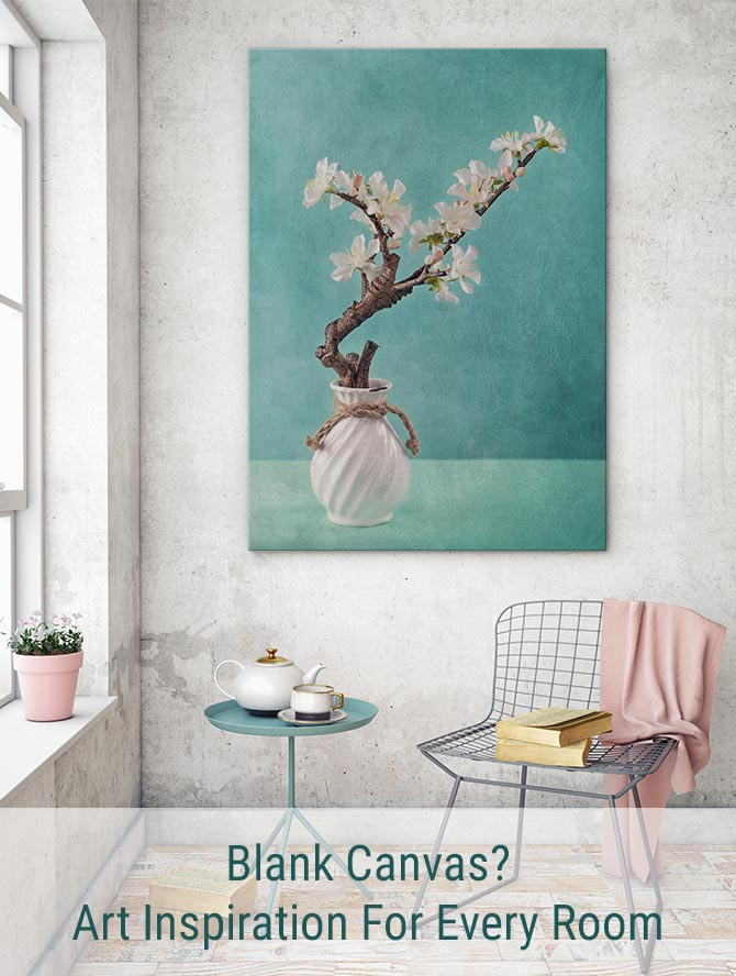Blank Canvas? Art Inspiration For Every Room