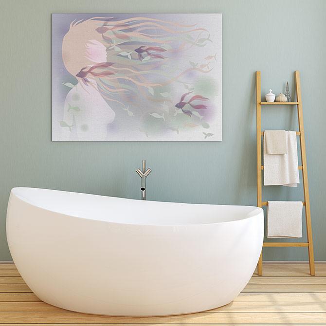 Art Inspiration - Bathroom