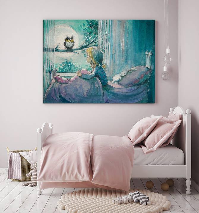 Art Inspiration - Girls Room