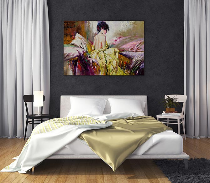 Blank Canvas Art Inspiration For Every Room Wall Art Prints