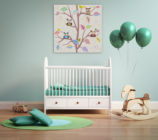 Art Inspiration - Nursery