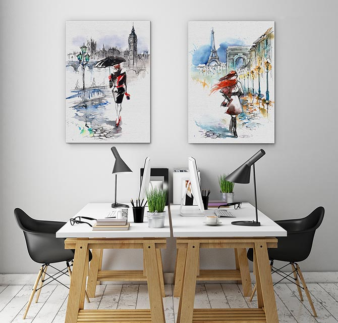 Art Inspiration - Office