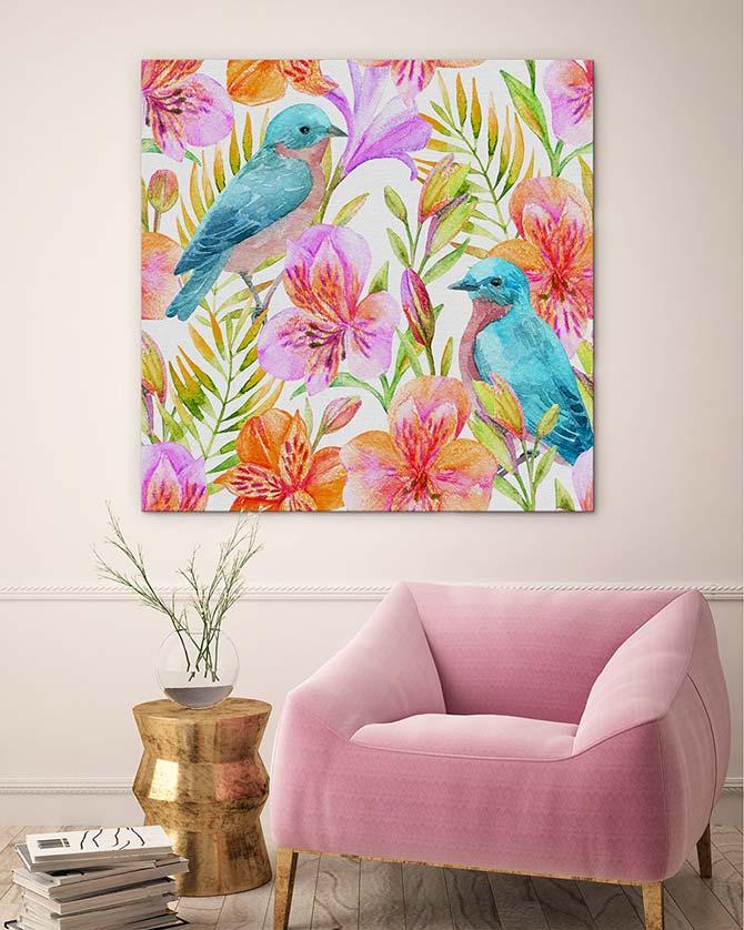 Mother's Day Art Bluebird print