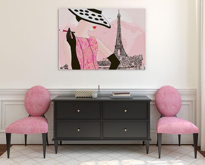 Paris Mothers Day Art