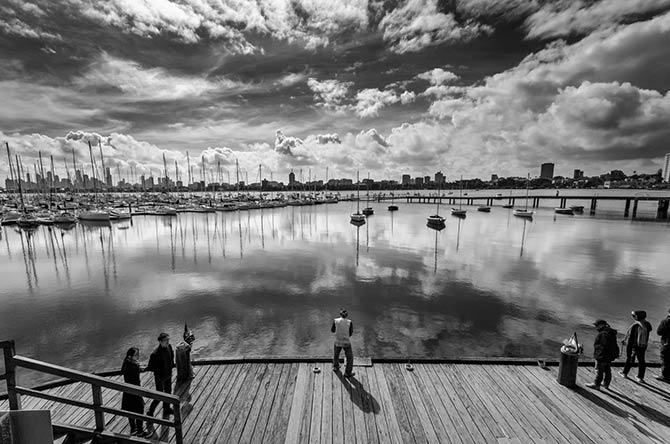 Photographer Christian Seidenberg - Melbourne Reflection