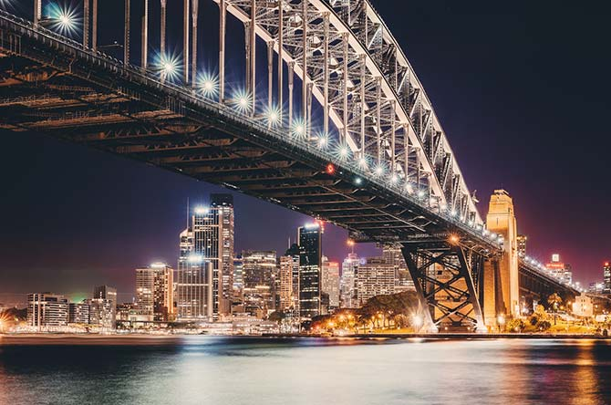 Photographer Christian Seidenberg - Sydney At Night